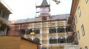Schloss Ebenzweier - 3 Jahre nach dem Brand