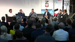 Ski-Ass Vincent Kriechmayr beim Sport Power Talk der Energie AG