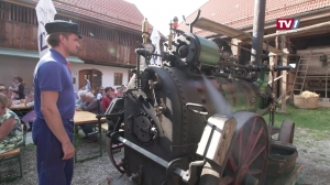Wie früher - Druschwoche am Stehrerhof