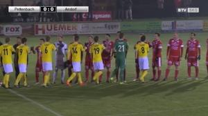 FB: BTV-Landesliga West: Union Pettenbach - FC Andorf