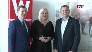 WKO Obfrau Dr. Angelika Winzig übergibt ihr Amt an Stephan Preishuber