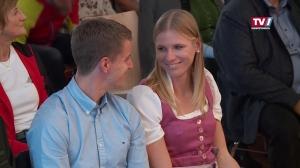WM-Heldin Verena Preiner zurück am Traunsee