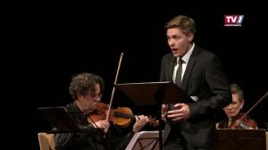 Countertenor Alois Mühlbacher beim Musiksommer