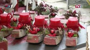 Adventausstellung bei Blumen Bergmoser in Frankenmarkt