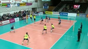 Volleyball Bundesliga: UVC Weberzeile Ried - TJ Sokol Wien