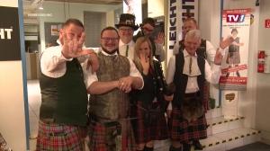 Küchen Leicht veranstaltet einen Schottenabend