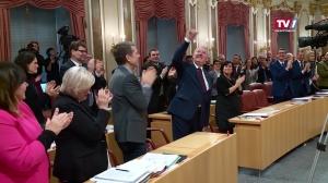 Verabschiedung von Landtagspräsident Viktor Sigl