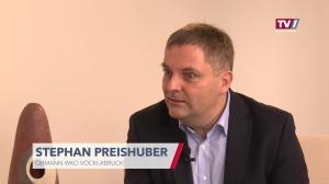Stephan Preishuber im Talk