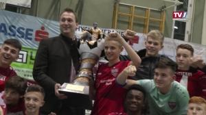 Titelverteidigung geglückt - VfB Stuttgart gewinnt 29. Baumit Hallencup