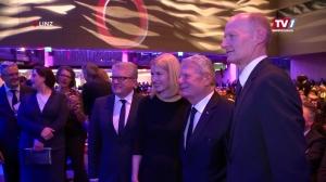 Joachim Gauck Stargast bei Oberbank Businessgala