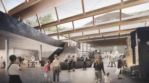 Neue Talstation für die Schafbergbahn