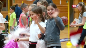Basketball-Volksschulturnier der Swans