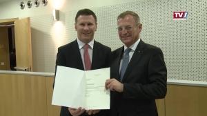 Gerald Kronberger ist der neue Bezirkshauptmann von Braunau