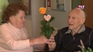 Valentinsgrüße im Altenheim