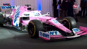 BWT präsentiert neuen Formel 1 Boliden in Mondsee