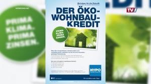 Mit dem HYPO Öko-Wohnbaukredit zu ihrem Traumhaus