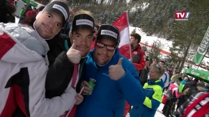 Ski-Weltcup-Zirkus in Hinterstoder