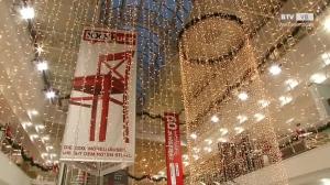 Lichterglanz schon jetzt im XXXLutz Weihnachtsmarkt