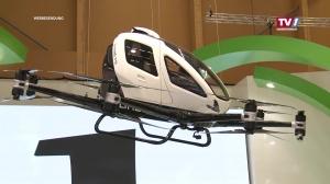 Linz AG präsentiert Airtaxi