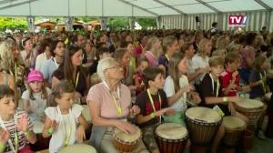 2285 Trommler holen Weltrekord nach Vöcklabruck