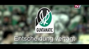 SV Guntamatic Ried - Antrag auf Aufstockung abgelehnt