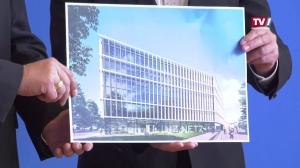 Ein neues Netzgebäude der Linz AG