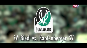 SV Guntamatic Ried vs. SV Kapfenberg 1919