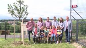 Neues Gemeindebankerl für Volksschule Ungenach