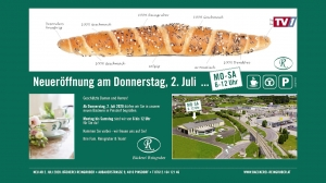 Eröffnung Bäckerei Reingruber Gmunden