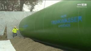 Größter Edelstahlwassertank installiert