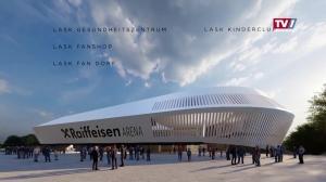 So wird das neue LASK-Stadion