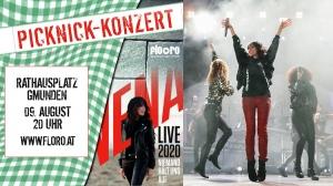 Nena kommt!    9. August, Rathausplatz Gmunden