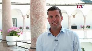 Im Gespräch mit Bürgermeister Stefan Krapf