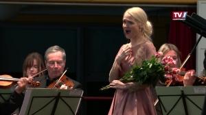 Manuela Dumfart beim Schlusskonzert Kurchorchester Bad Schallerbach