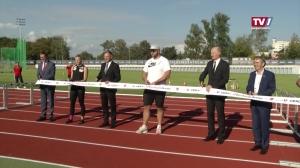 Eröffnung Leichtathletikzentrum
