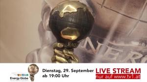 Spot Live-Stream Energy Globe Verleihung