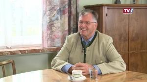 Abschiedsgespräch mit Vöcklamarkts Bürgermeister Josef Six