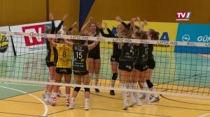Heimsieg für Steelvolleys Linz Steg gegen Erzbergmadln