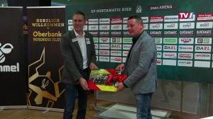 Neuer Geschäftsführer der SV Guntamatic Ried