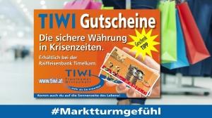 Kauf dahoam - TIWI Gutscheine