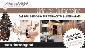 Spot Black Friday - Wellnesshotel Almesberger Urlaubsgutscheine