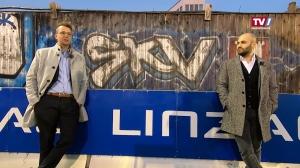ZWEI-Mann-Vorstand FC Blau-Weiß Linz