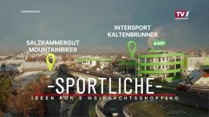 Sportlich Shoppen in Gmunden…