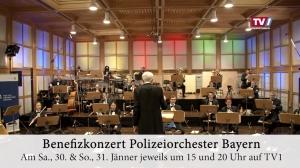Benefizkonzert des Polizeiorchester Bayerns