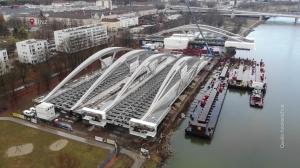 Fertigstellung - Neue Donaubrücke