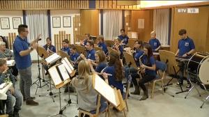 Das Adventkonzert der Jungmusiker der Bergknappenkapelle Kohlgrube