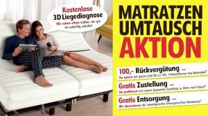 Betten Ammerer / Matratzenumtauschaktion