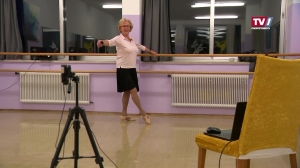 86-jährige Linzerin unterrichtet Ballettschüler online