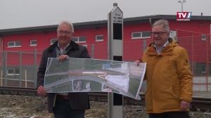 Neue Haltestelle mit Park & Ride Anlage in Kirchham