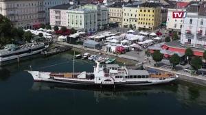 Schwimmendes Denkmal: 150 Jahre Dampfschiff Gisela